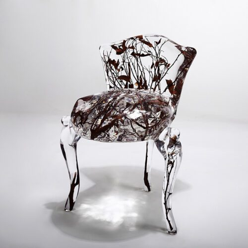 Crystal and Branches Chair