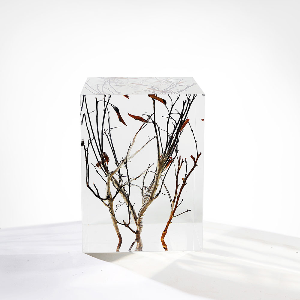 Crystal and Branches pedestal