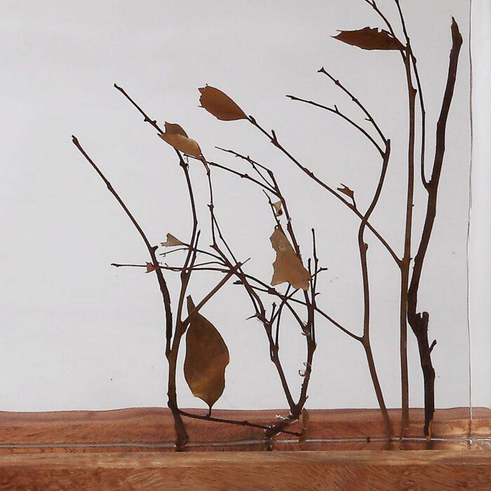 dry wood leaves decoration 1