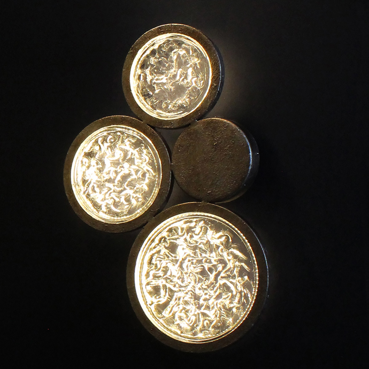 cricle wall sconces